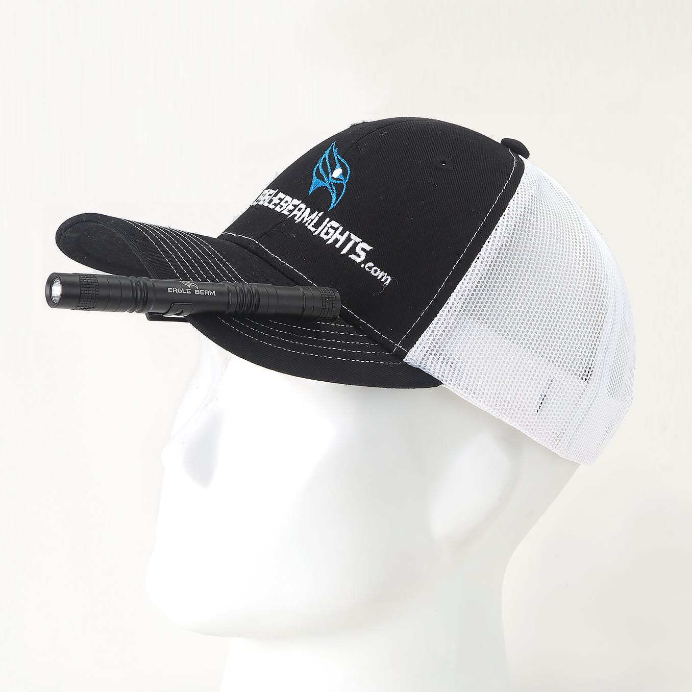 Hat LED Flashlight Clip 02